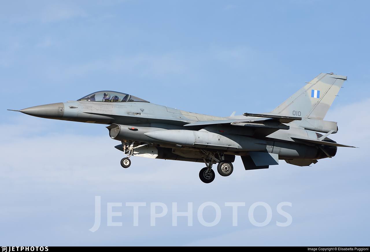 010 - Lockheed Martin F-16CJ Fighting Falcon - Greece - Air Force