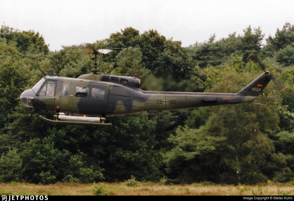 72-95 - Bell UH-1D Iroquois - Germany - Army