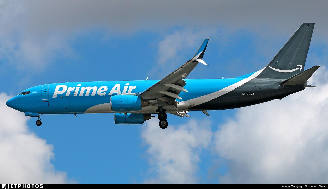 N5227A - Boeing 737-86N(BCF) - Amazon Prime Air (Southern Air)