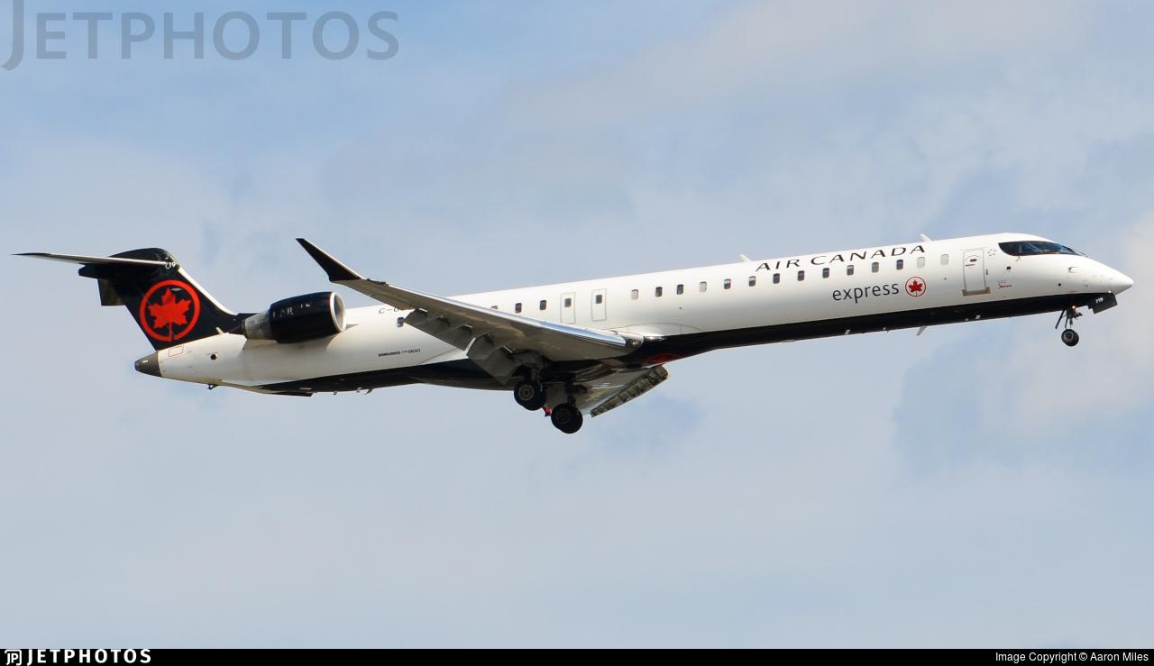 C-GJZS - Bombardier CRJ-900LR - Air Canada Express (Jazz Aviation)