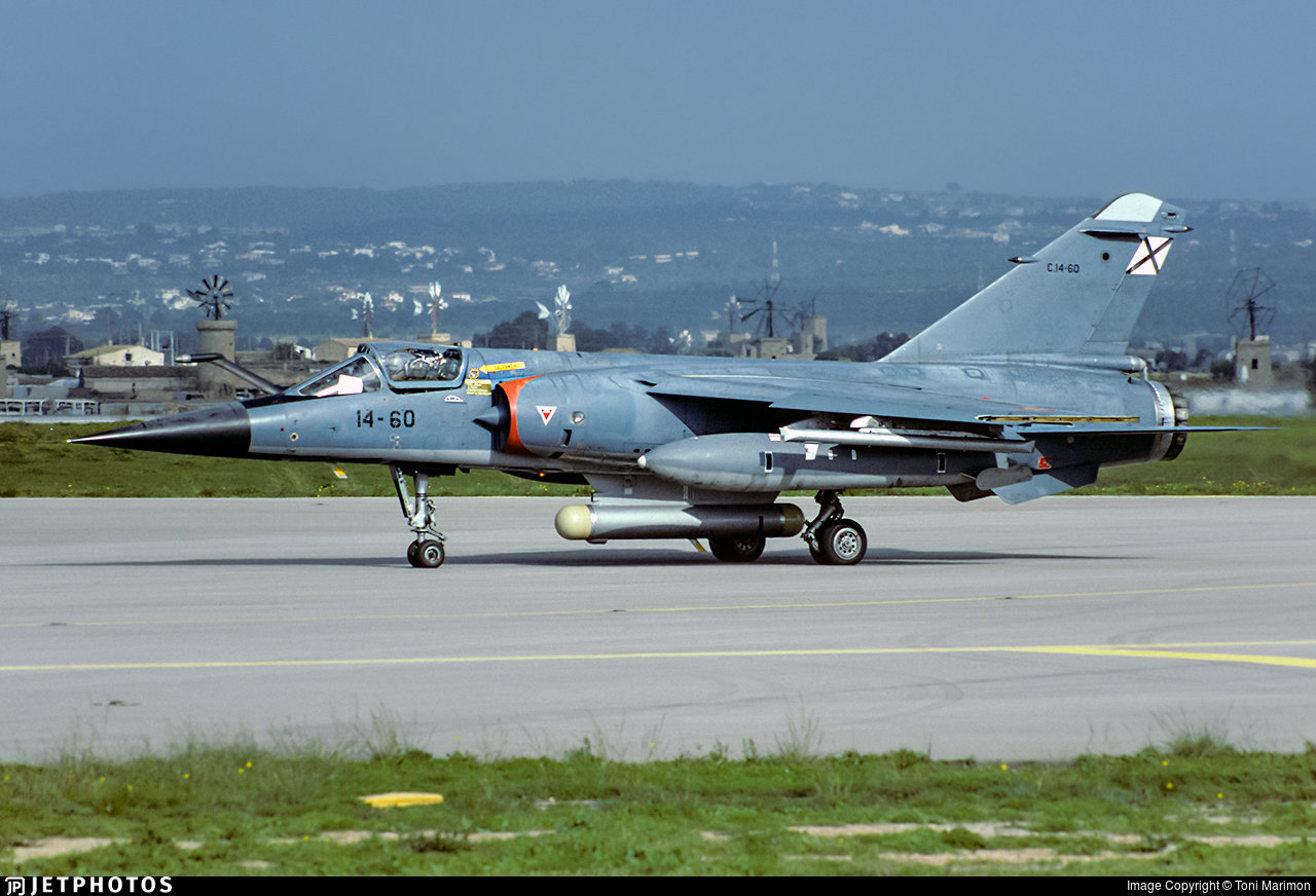 C.14-60 - Dassault Mirage F1EE - Spain - Air Force