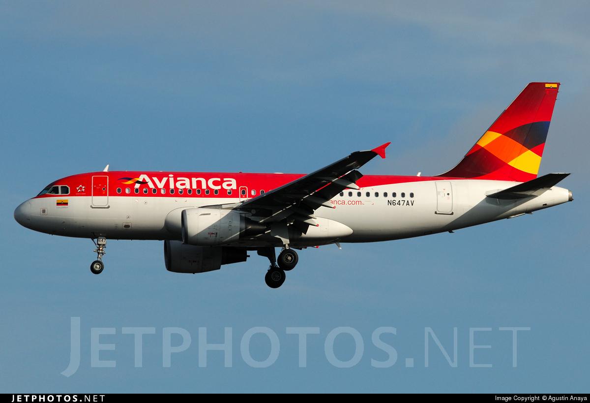 N647VA - Airbus A319-115 - Avianca