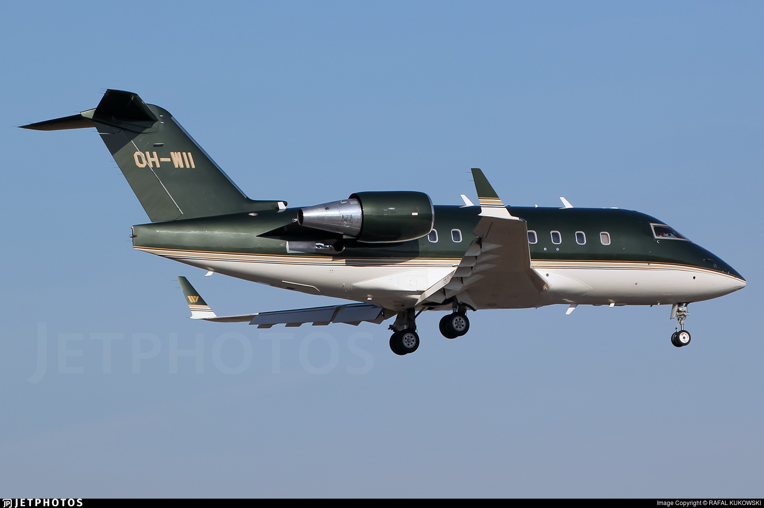 OH-WII - Bombardier CL-600-2B16 Challenger 604 - Jetflite
