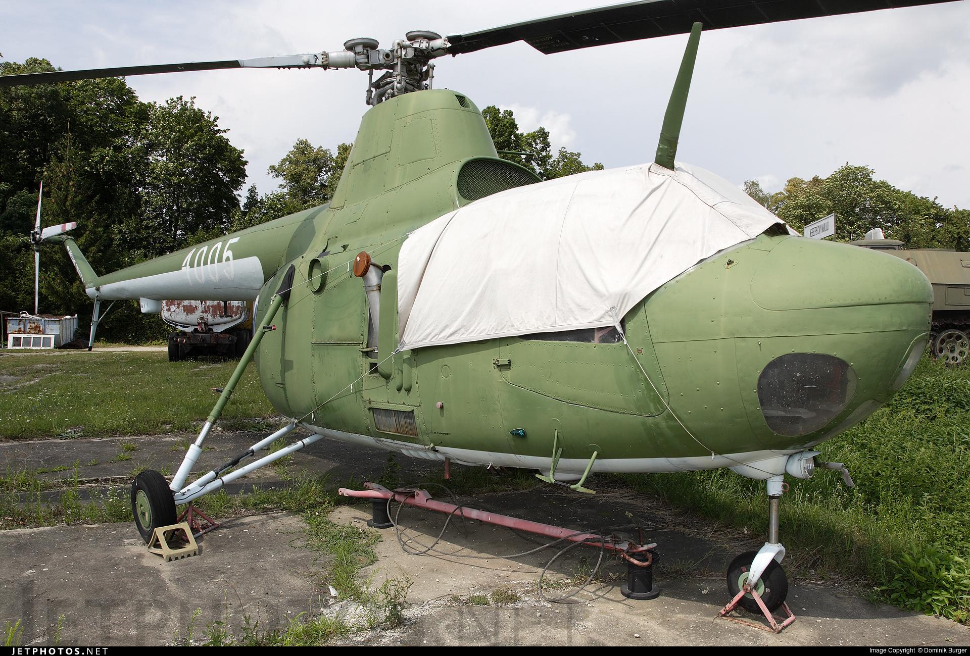 4005 - Mil Mi-1 Hare - Czechoslovakia - Air Force