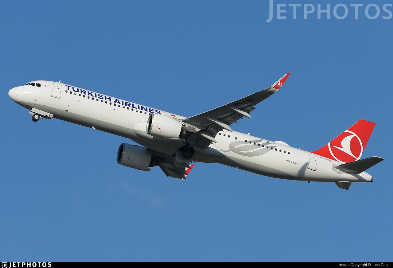 TC-LSU - Airbus A321-271NX - Turkish Airlines