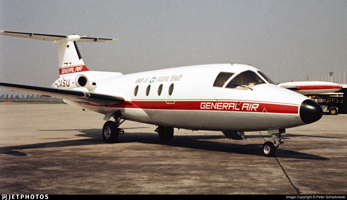 D-CASU   MBB HFB-320 Hansa-Jet...