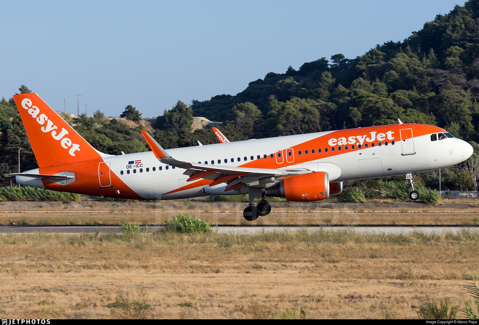 OE-ICC - Airbus A320-214 - easyJet Europe