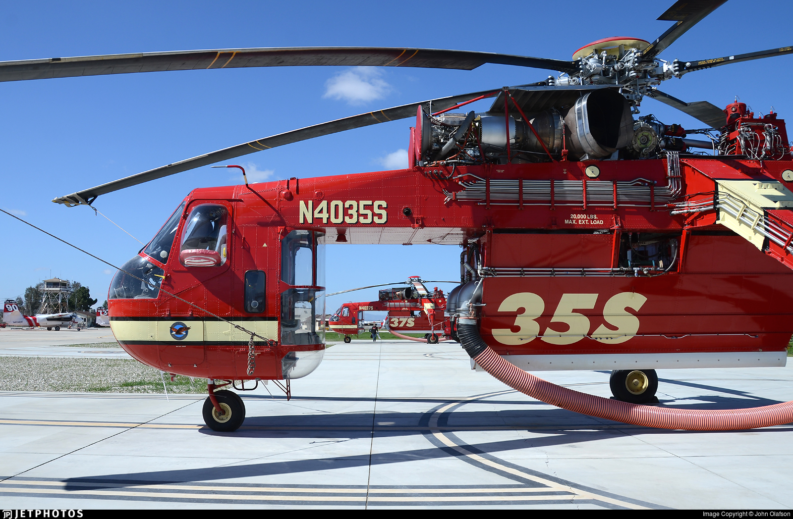 N4035S - Sikorsky S-64E Helitanker - Siller Brothers Helicopters