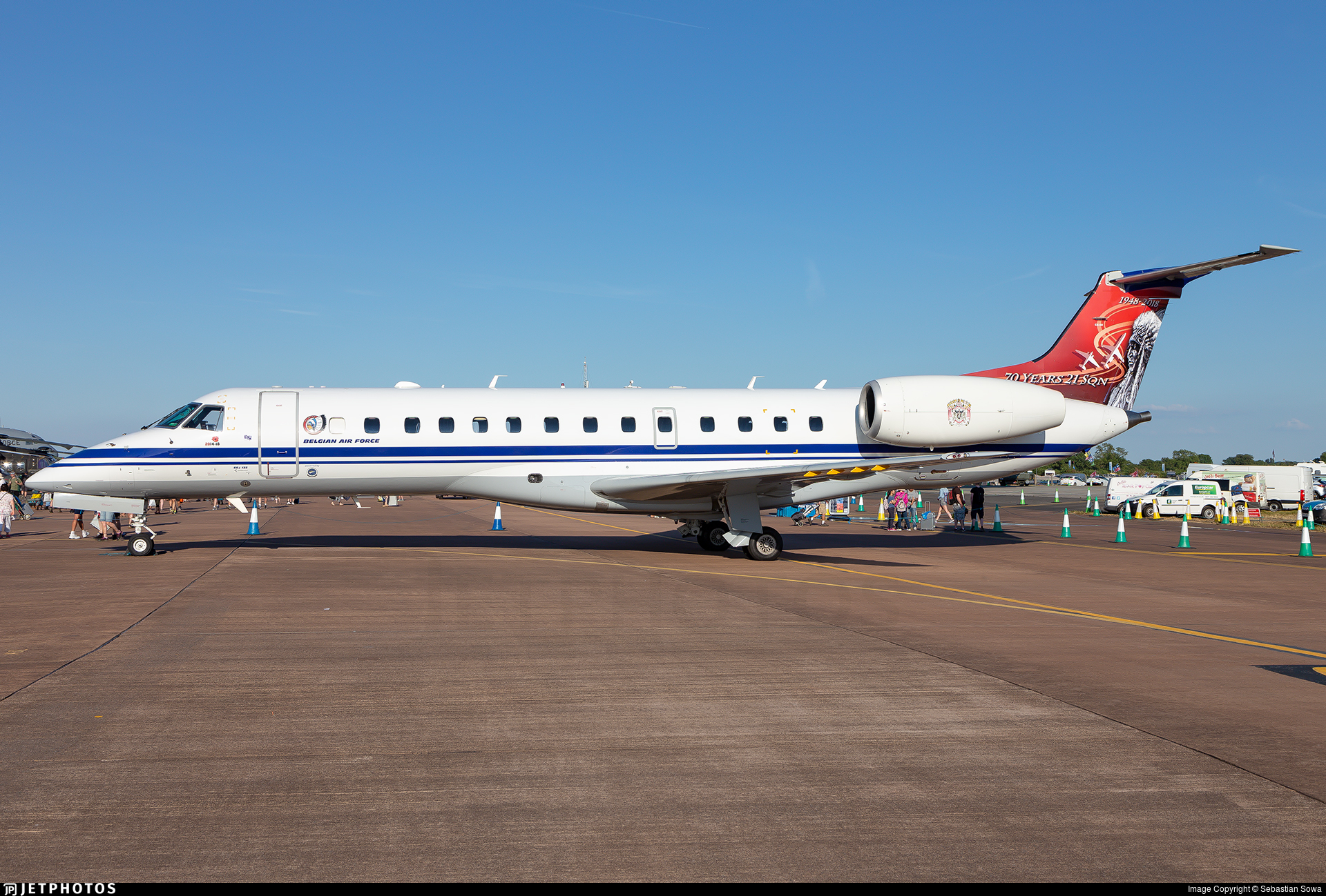 CE-02 - Embraer ERJ-135LR - Belgium - Air Force