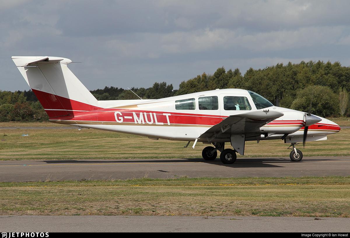 G-MULT - Beechcraft 76 Duchess - Private