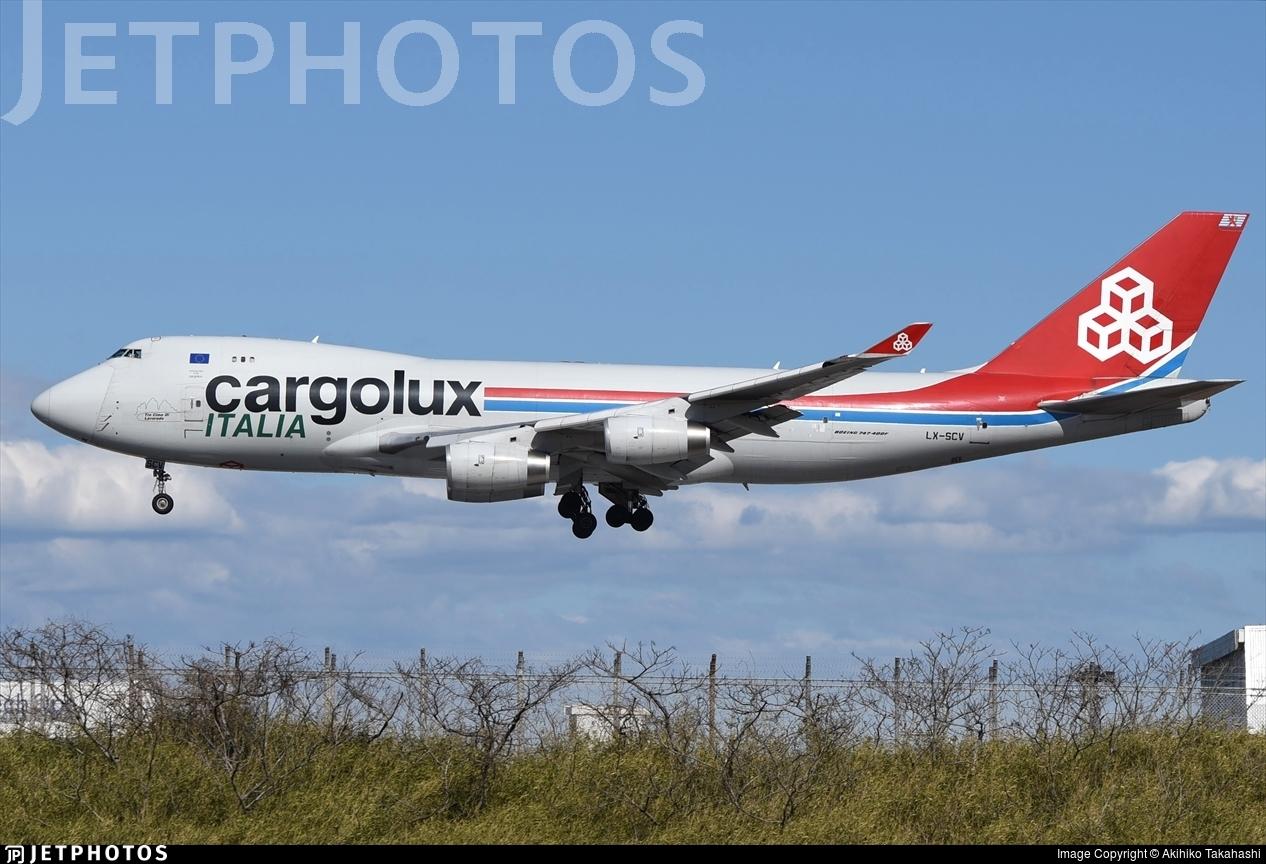 LX-SCV - Boeing 747-4R7F(SCD) - Cargolux Italia Airlines