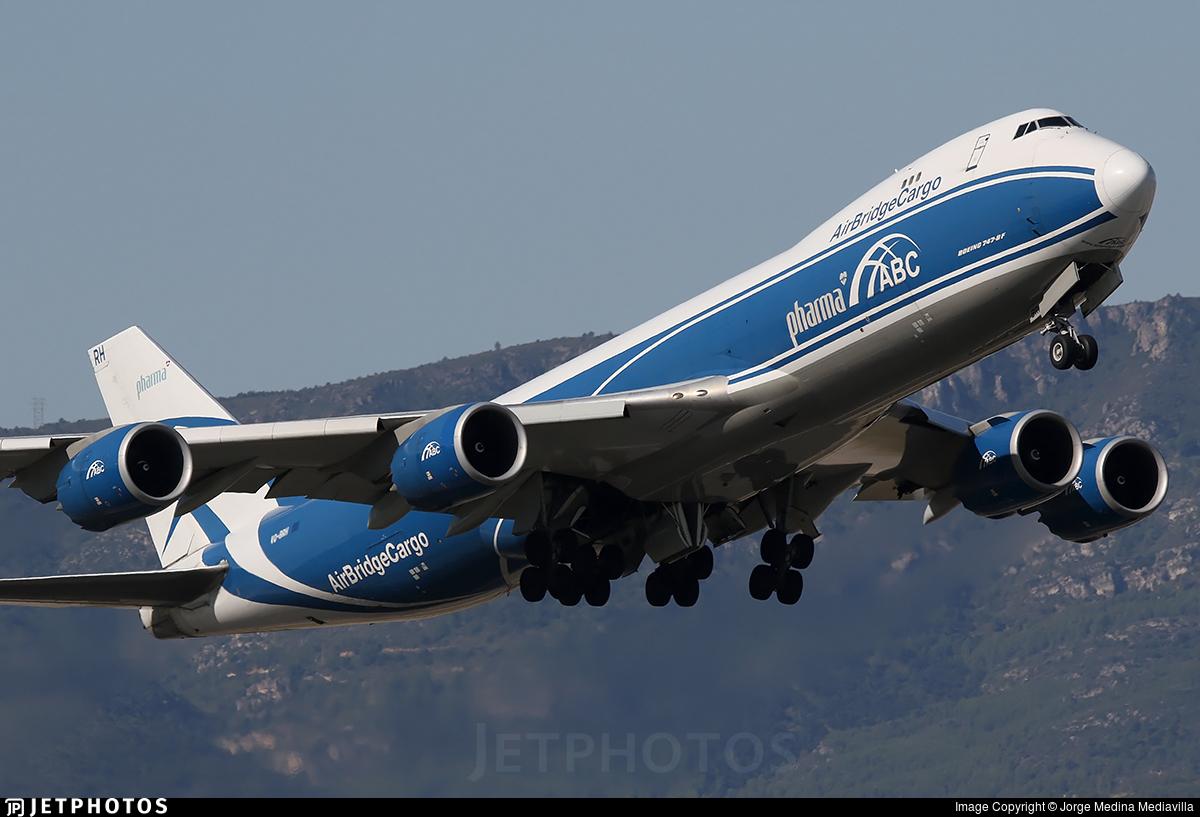 VQ-BRH - Boeing 747-8HVF - Air Bridge Cargo