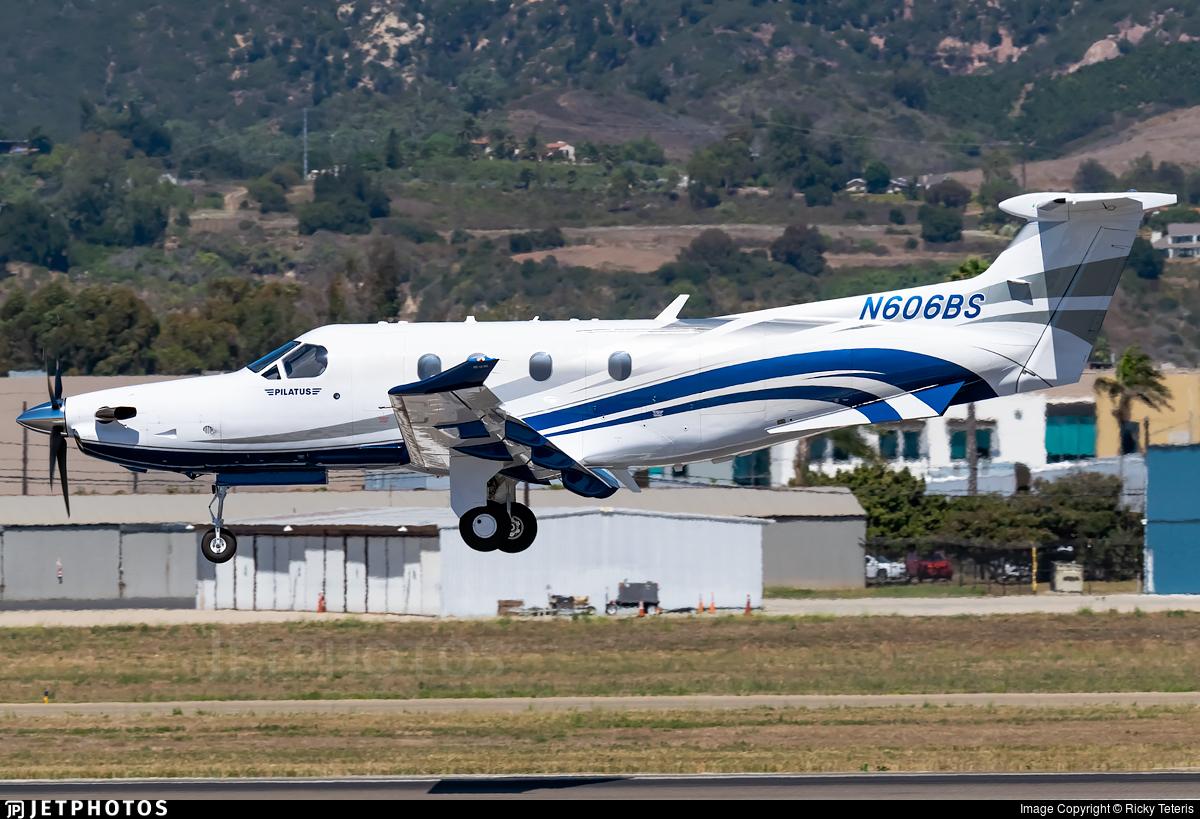 N606BS - Pilatus PC-12/47E - Private