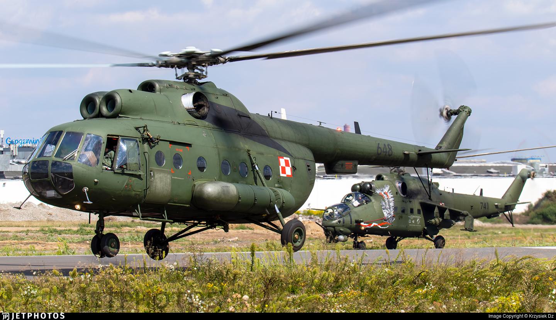 648 - Mil Mi-8T Hip - Poland - Army