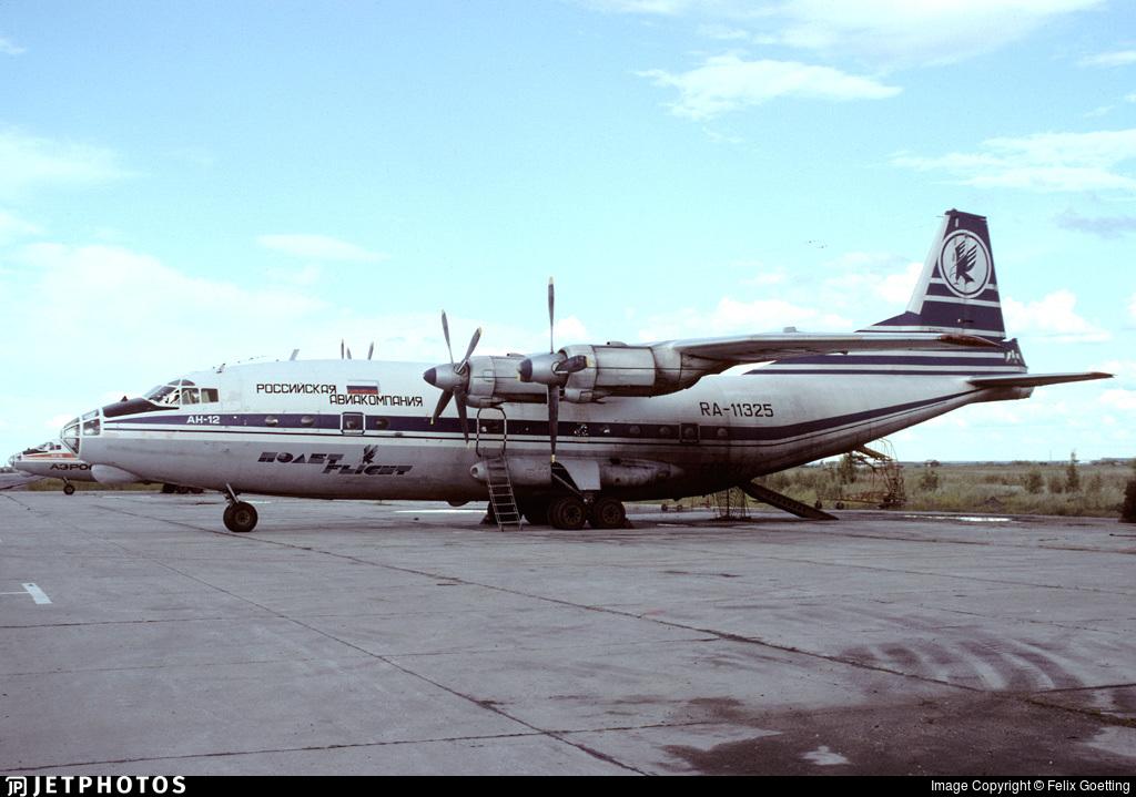 RA-11325 - Antonov An-12BP - Polet Flight