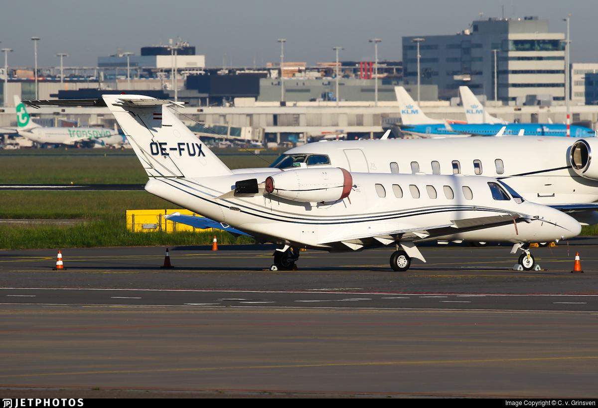 OE-FUX - Cessna 525A CitationJet 2 - Bairline Fluggesellschaft