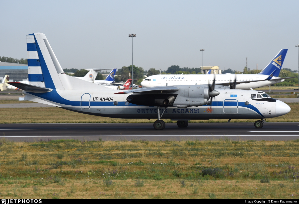 UP-AN404 - Antonov An-24B - Southern Sky
