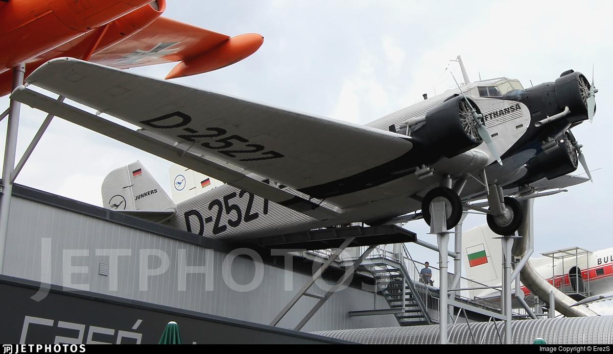 D-2527 - Junkers Ju-52 - Lufthansa