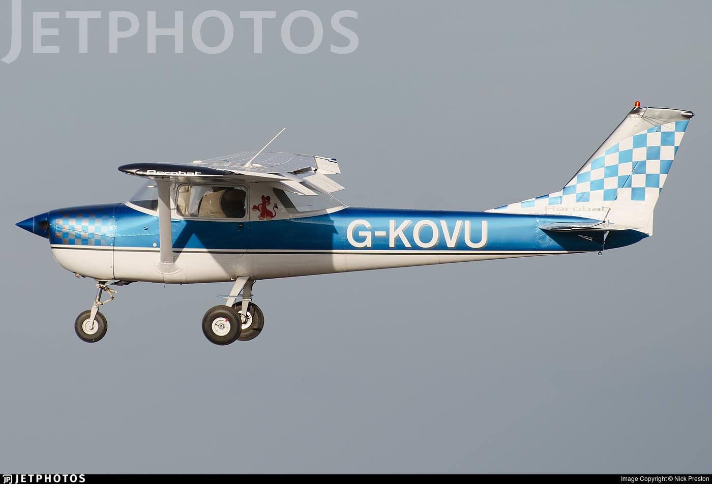G-KOVU - Cessna A150K Aerobat - Private