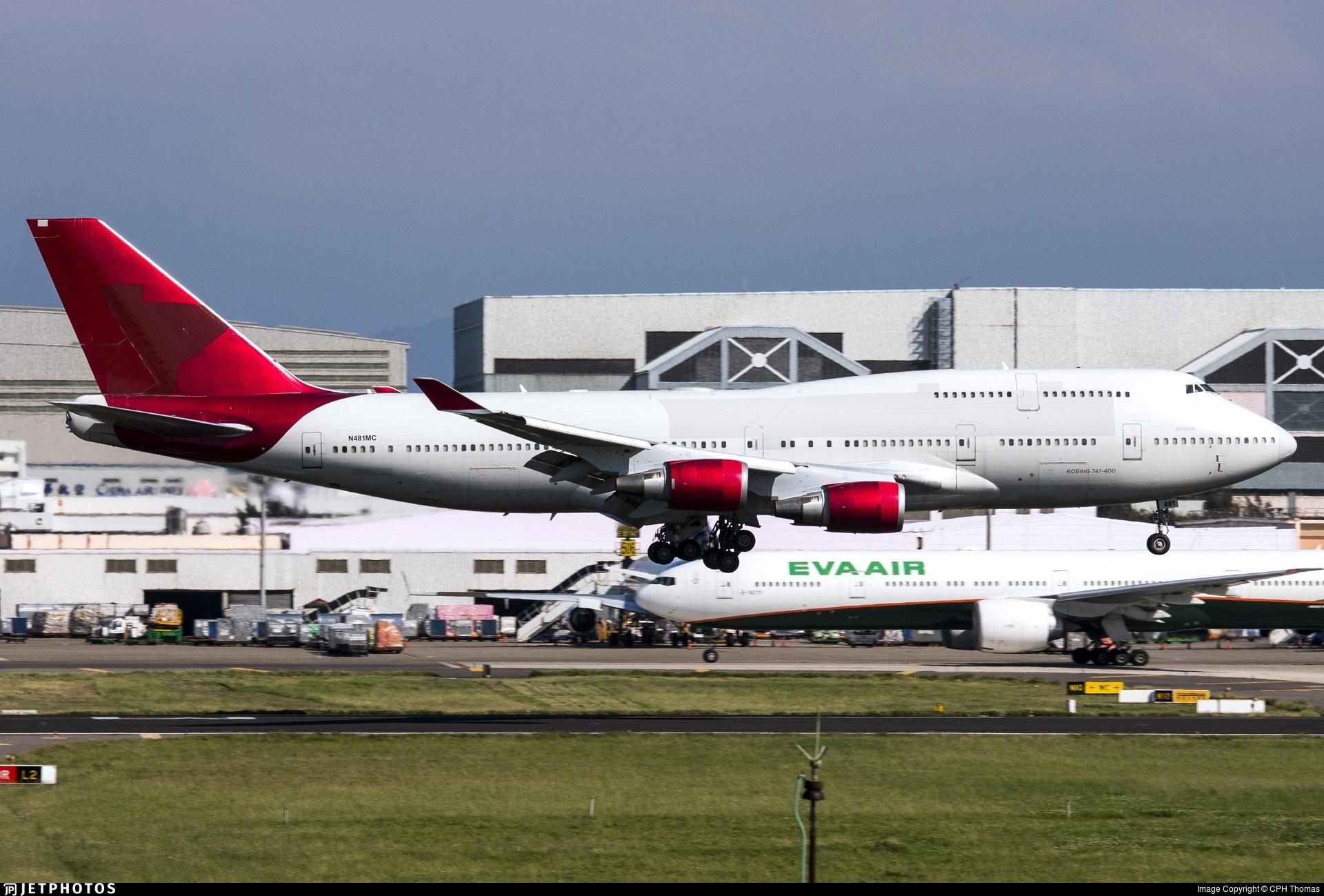 N481MC - Boeing 747-443 - Atlas Air