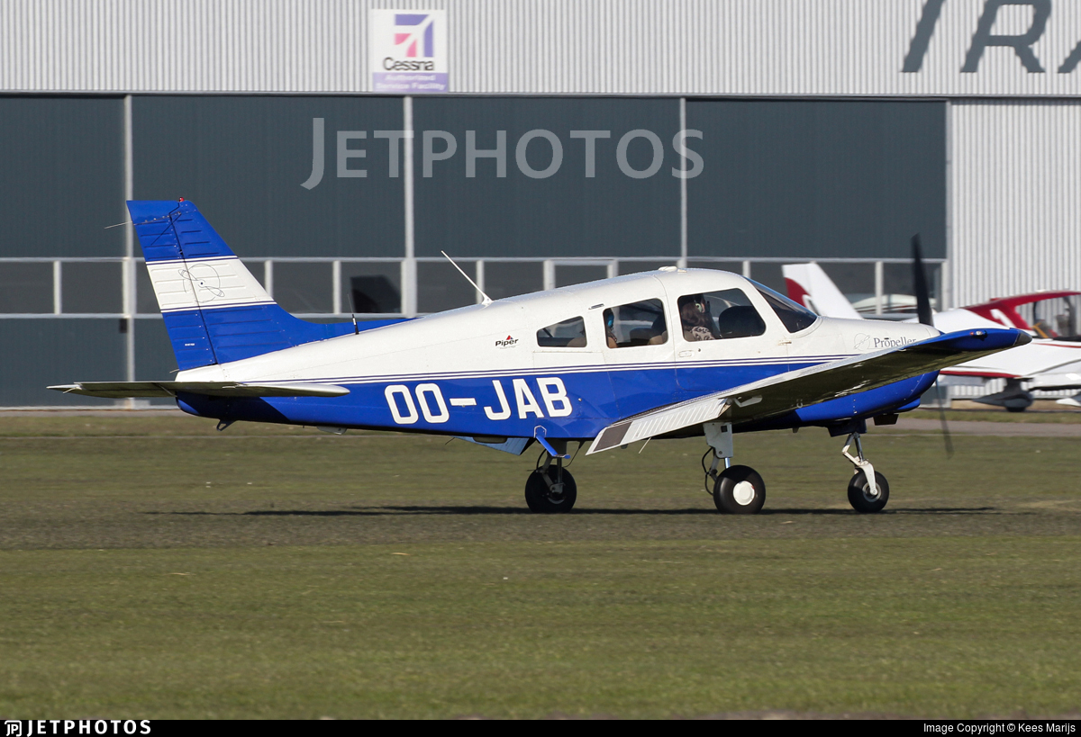 OO-JAB - Piper PA-28-161 Warrior III - Ostend Air College