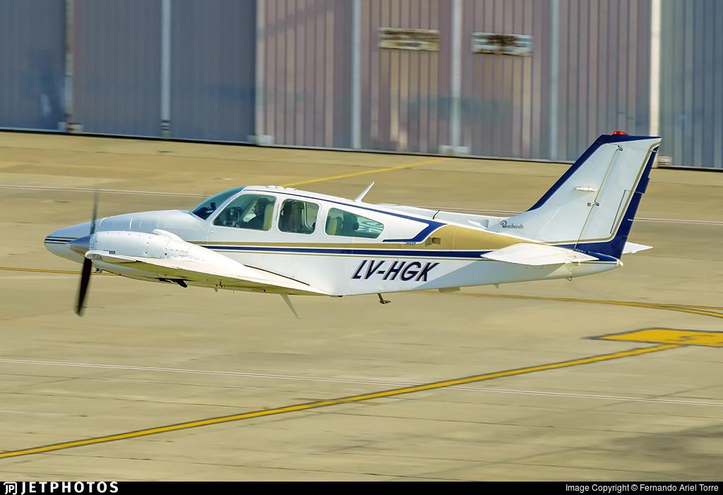 LV-HGK - Beechcraft G58 Baron - Private