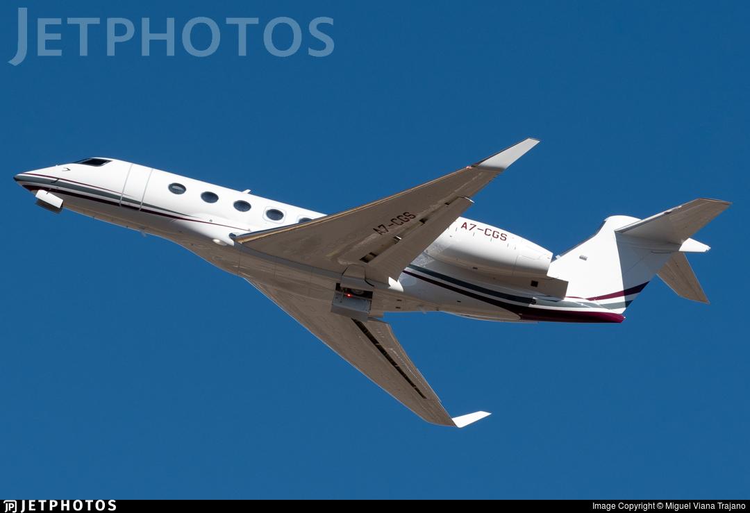 A7-CGS - Gulfstream G500 - Qatar Executive
