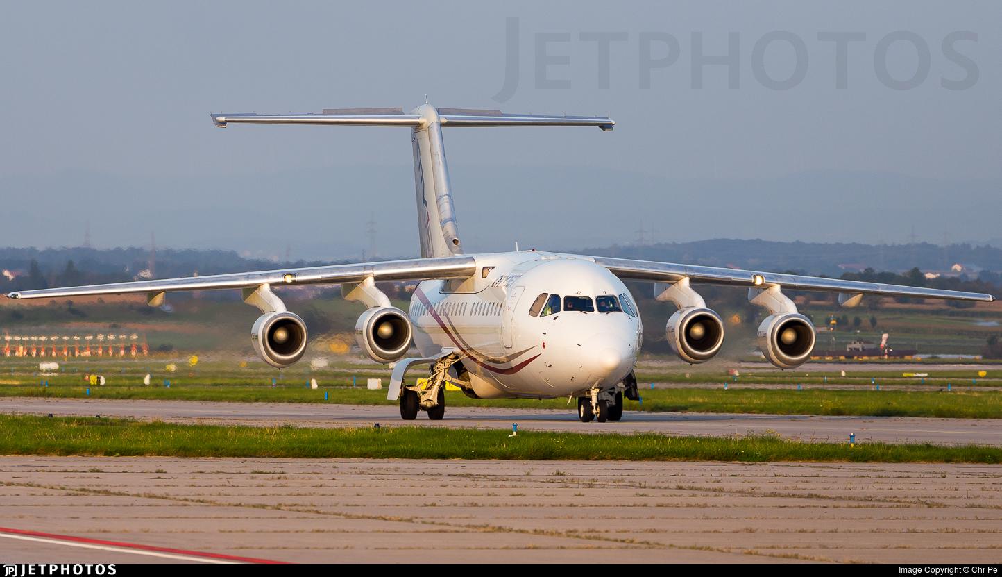 EI-RJZ - British Aerospace Avro RJ85 - CityJet