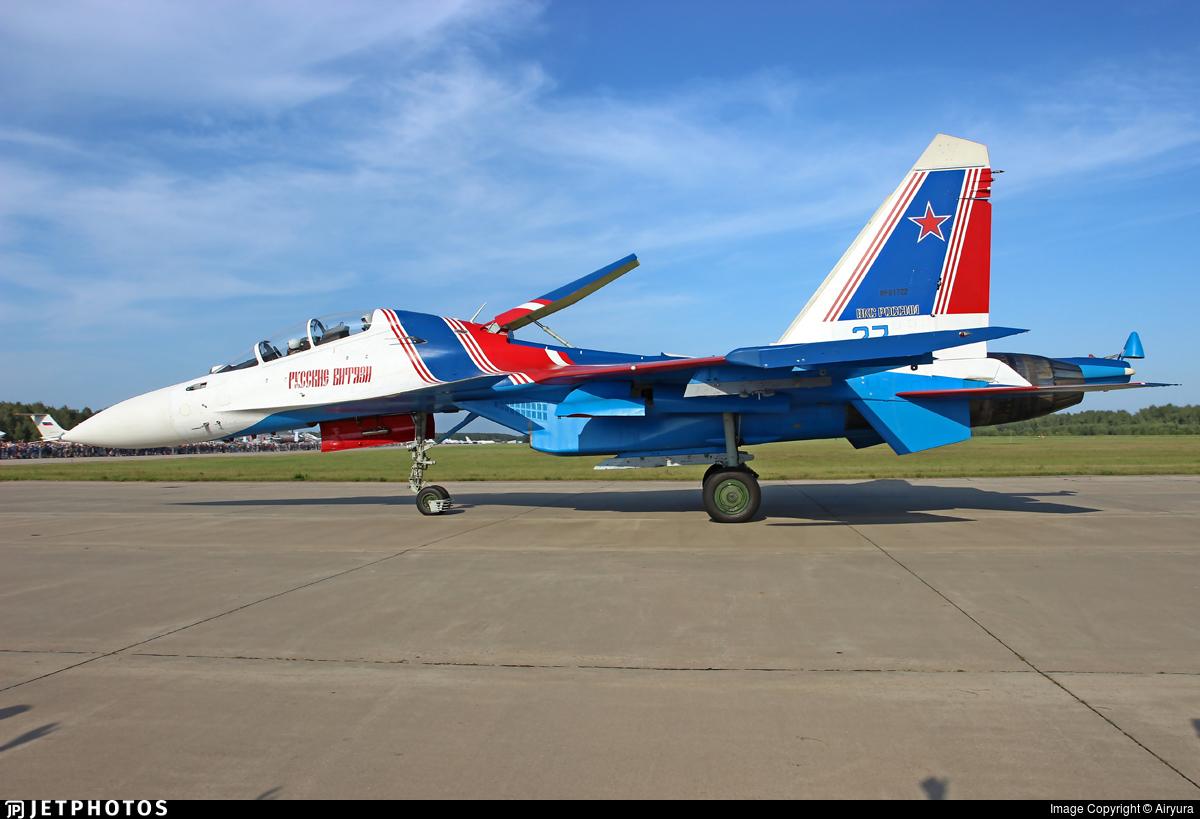 RF-81722 - Sukhoi Su-30SM - Russia - Air Force