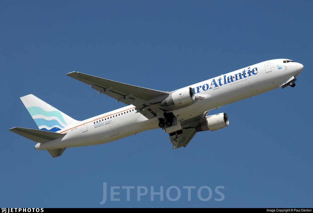 CS-TFT - Boeing 767-3Y0(ER) - EuroAtlantic Airways