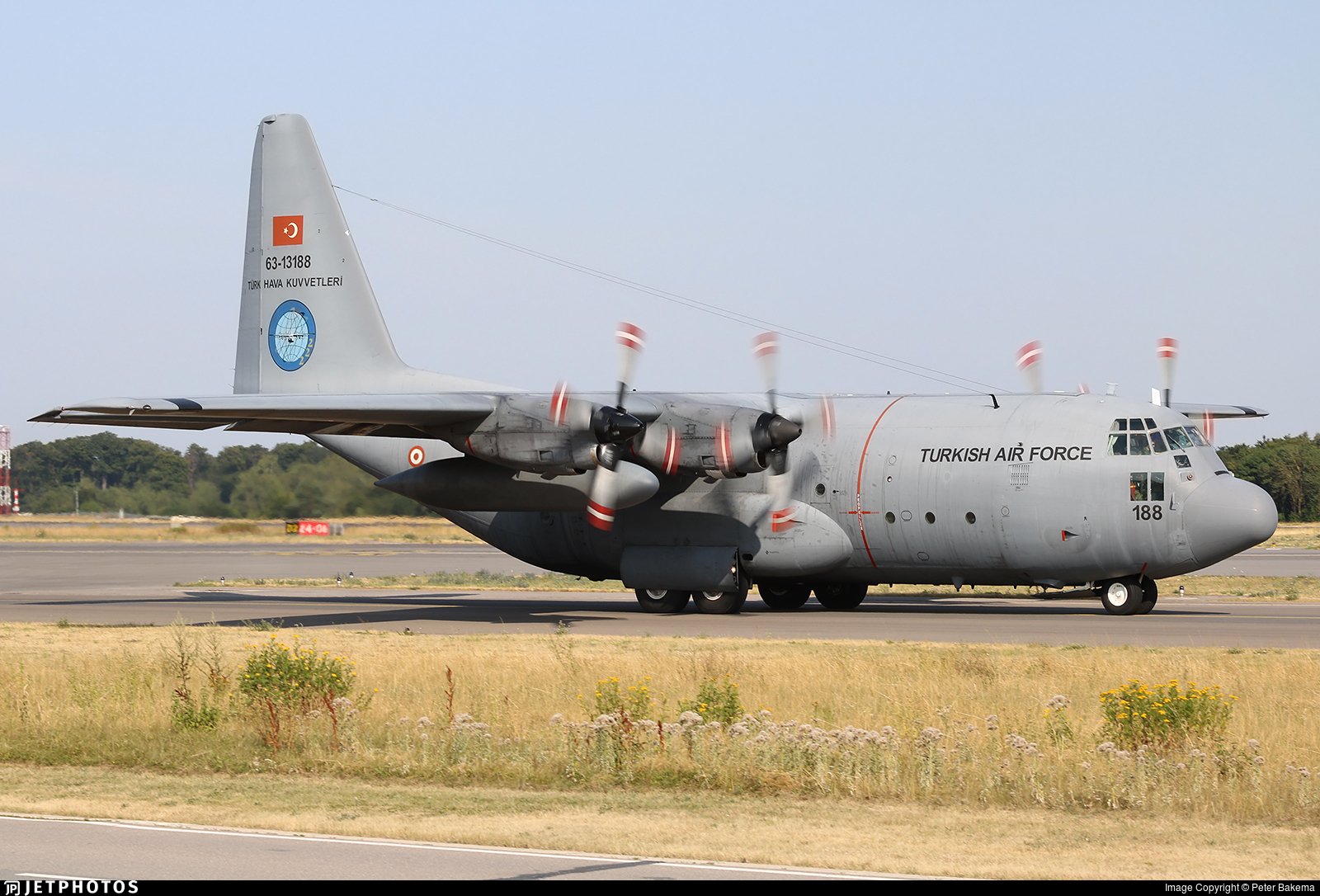 63-13188 | Lockheed C-130E Hercules | Turkey - Air Force | Peter ...