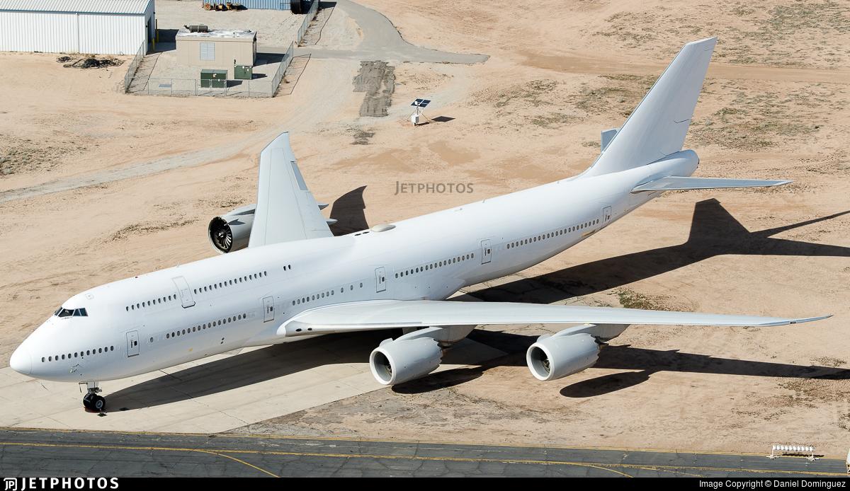 N894BA - Boeing 747-85M - Boeing Company