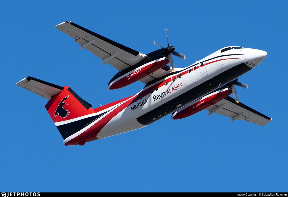N883EA - Bombardier Dash 8-106 - Ravn Alaska