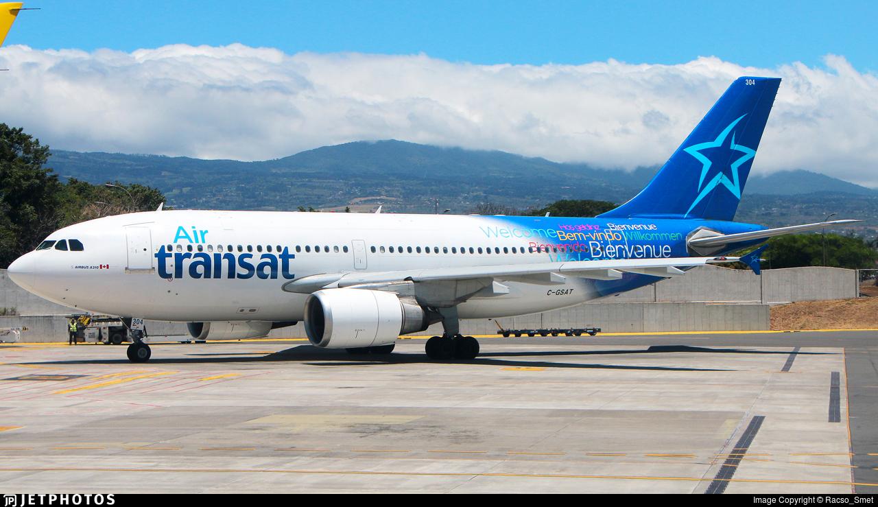 C-GSAT - Airbus A310-308 - Air Transat