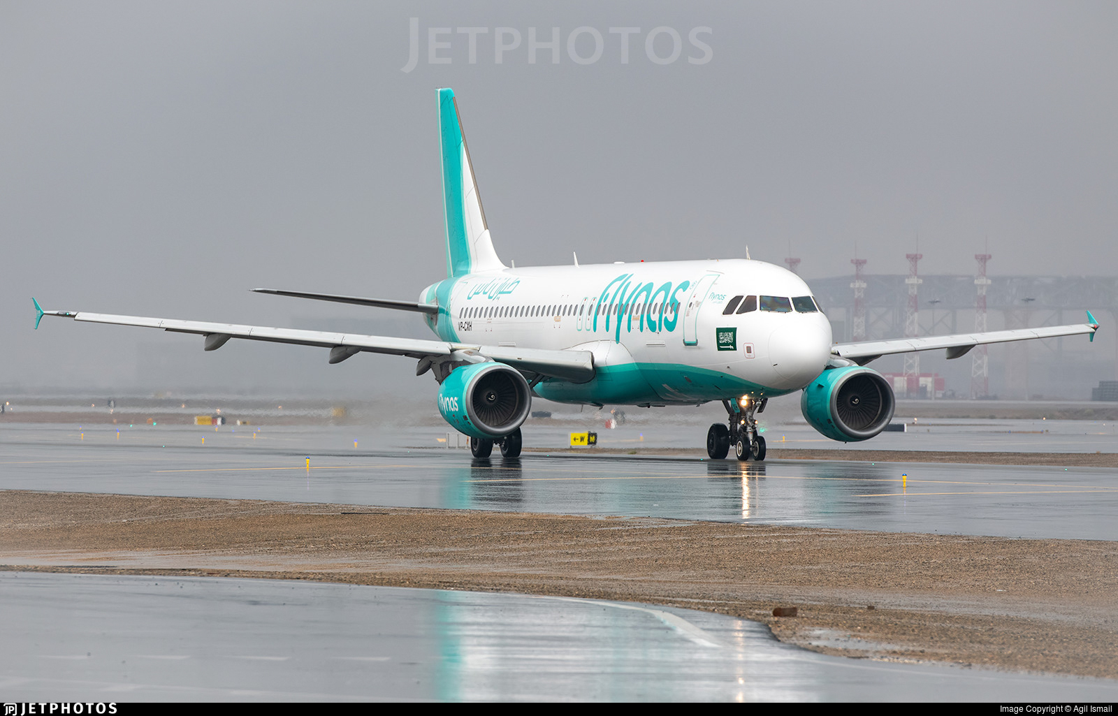 VP-CXH - Airbus A320-214 - Flynas