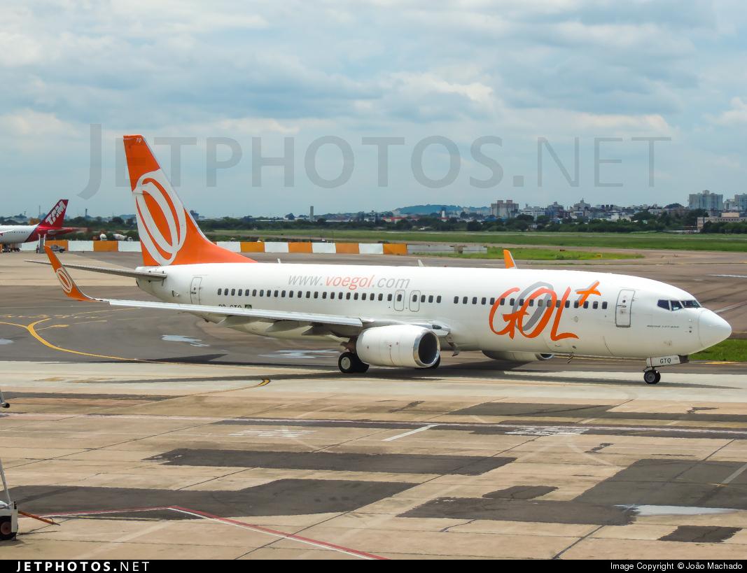 PR-GTQ - Boeing 737-8EH - GOL Linhas Aéreas