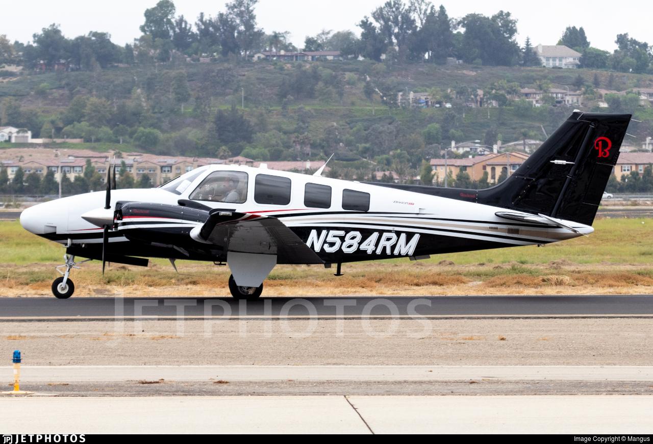 N584RM - Beechcraft G58 Baron - Private