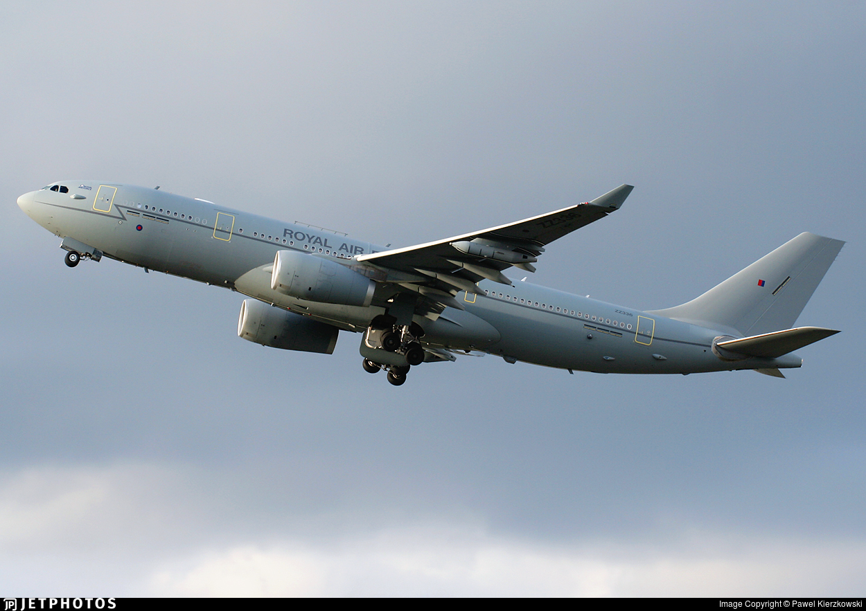 ZZ336 - Airbus A330-243 (MRTT) Voyager KC.2 - United Kingdom - Royal Air Force (RAF)