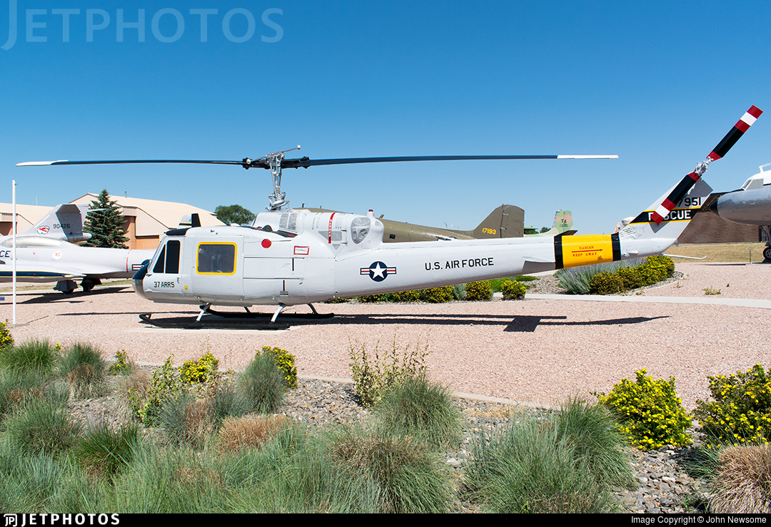 65-7951 - Bell UH-1F Iroquois - United States - US Air Force (USAF)