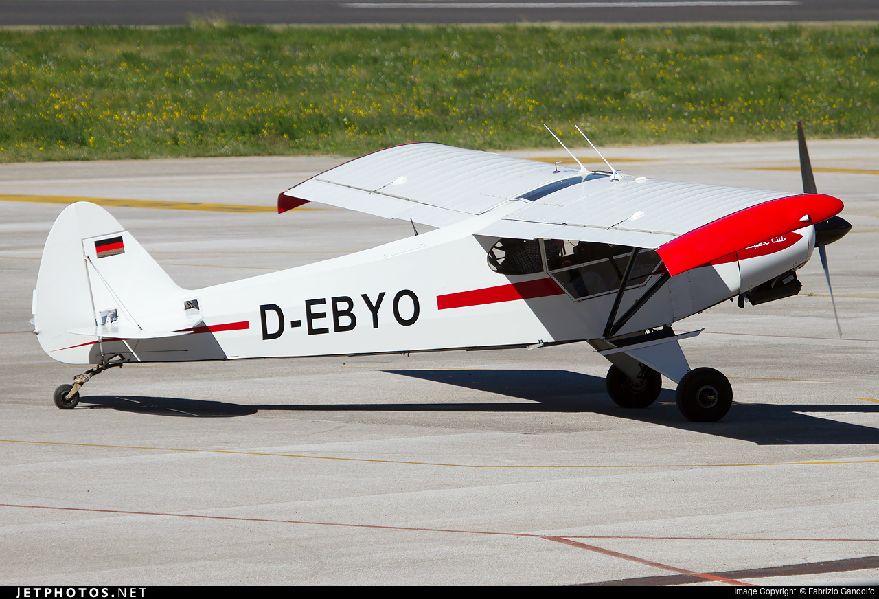 D-EBYO - Piper PA-18-180M Super Cub - Private