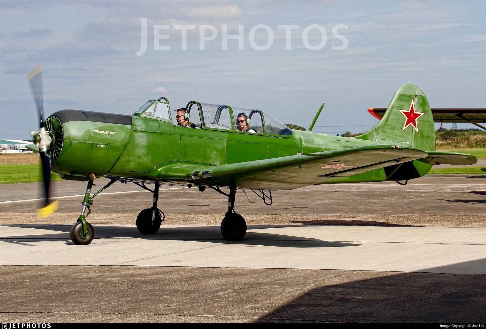 G-CEIB - Yakovlev Yak-18A - Private