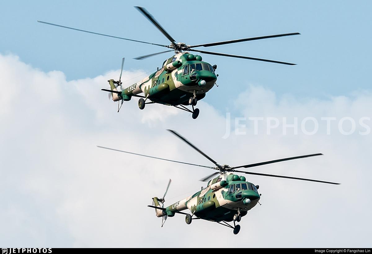 LH92786 - Mil Mi-171E Baikal - China - Army
