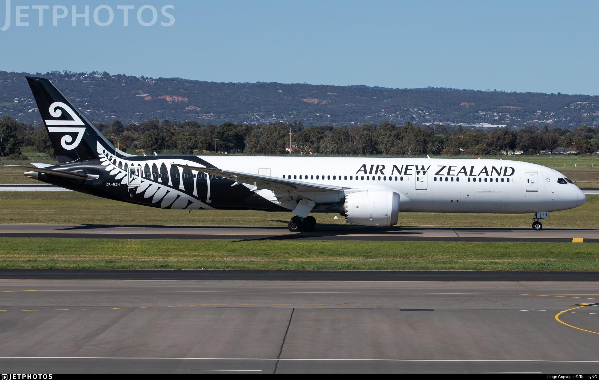 ZK-NZH - Boeing 787-9 Dreamliner - Air New Zealand