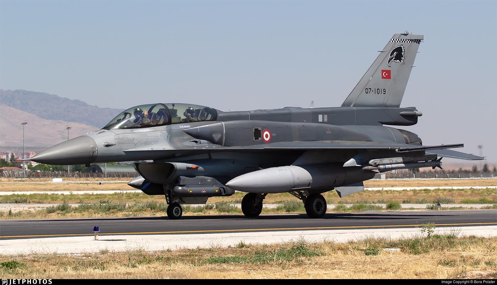 07-1019   General Dynamics F-16D Fighting Falcon   Turkey