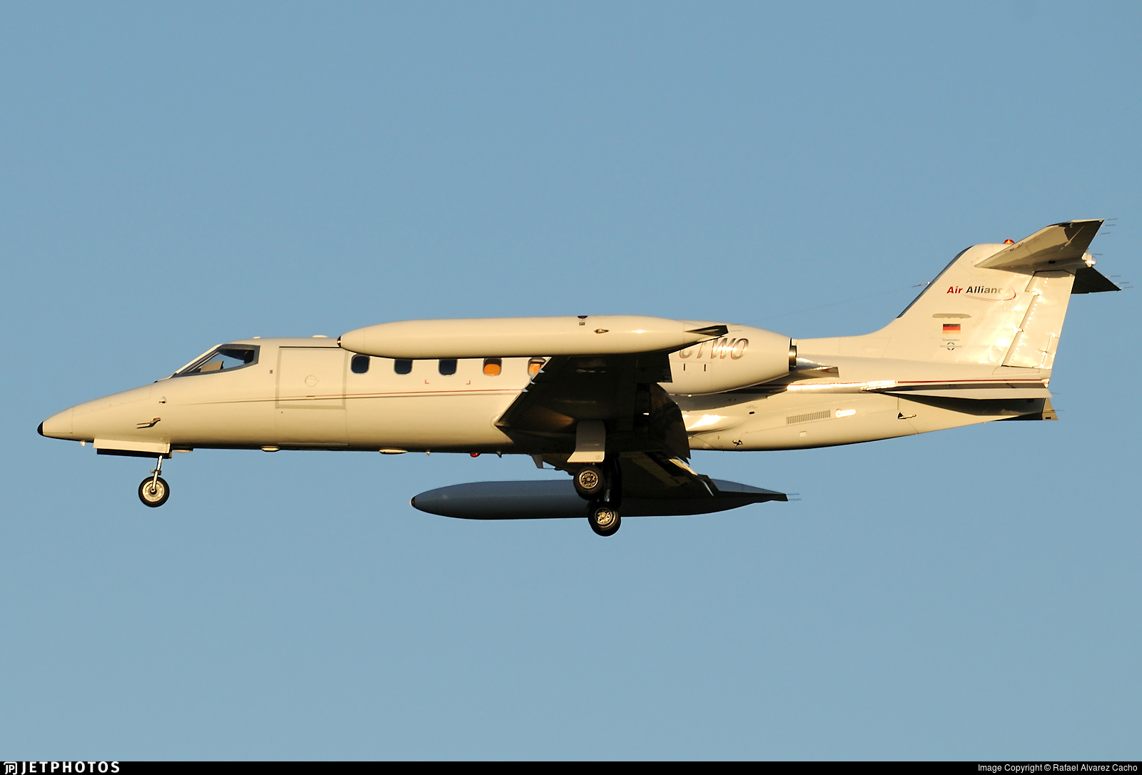 D-CTWO - Bombardier Learjet 35A - Air Alliance