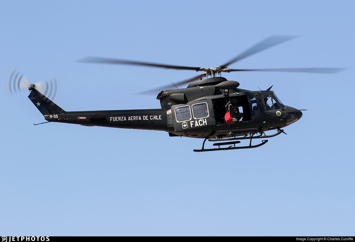 H-55 - Bell 412EP - Chile - Air Force