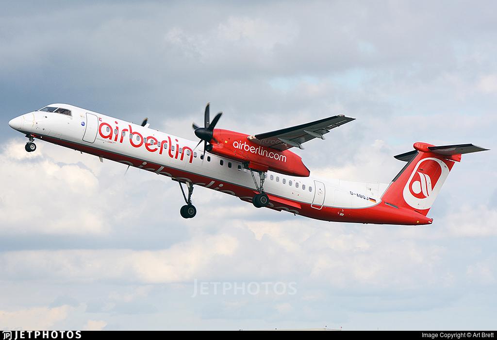 D-ABQJ - Bombardier Dash 8-Q402 - Air Berlin (LGW Luftfahrtgesellschaft Walter)