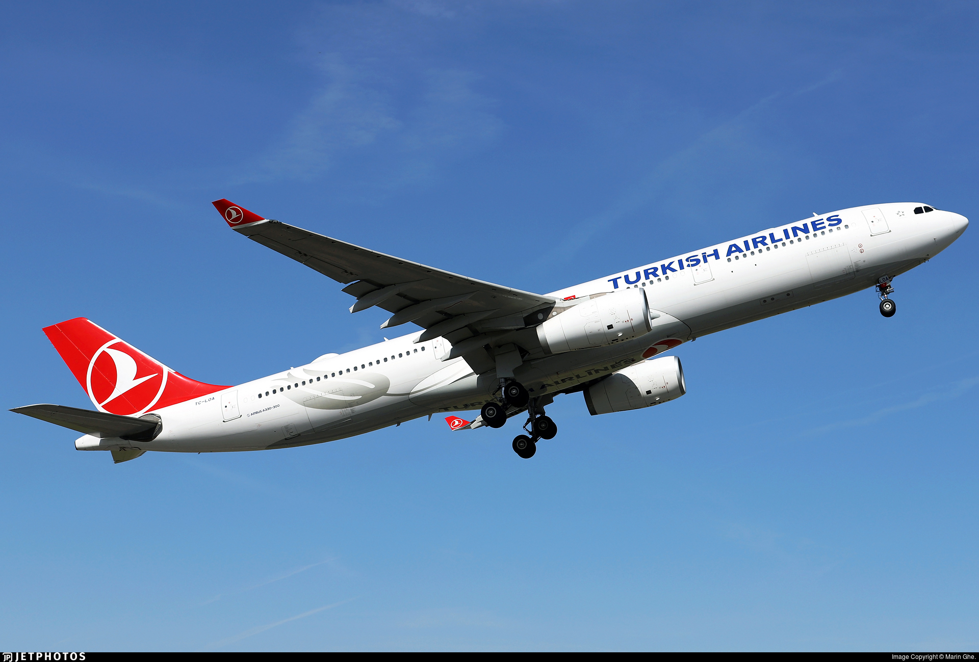 TC-LOA - Airbus A330-343 - Turkish Airlines