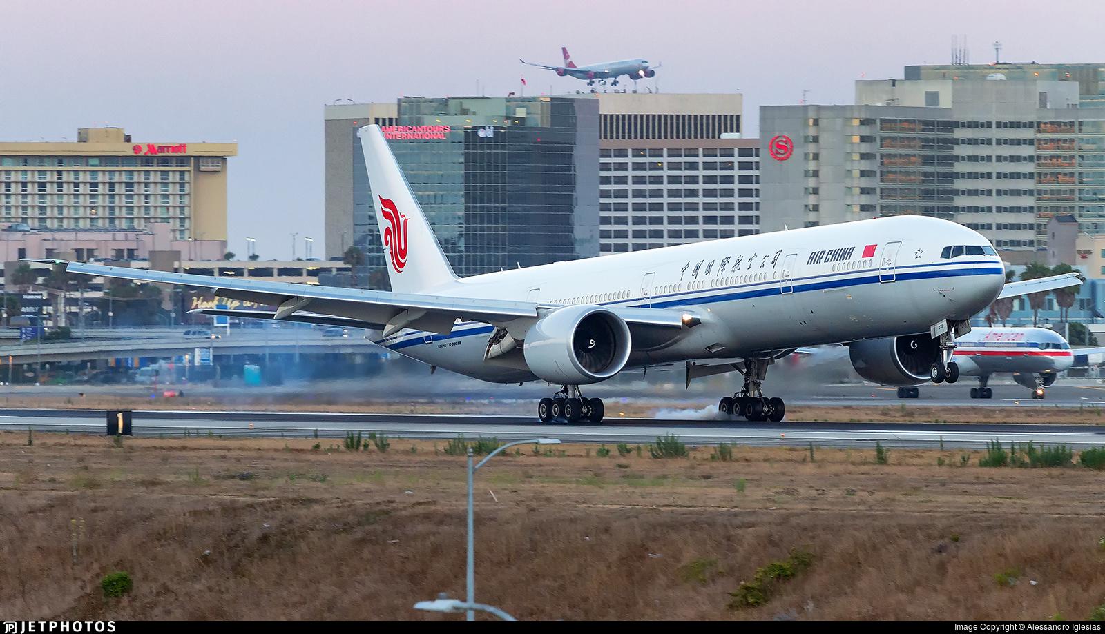 B-2038 - Boeing 777-39LER - Air China