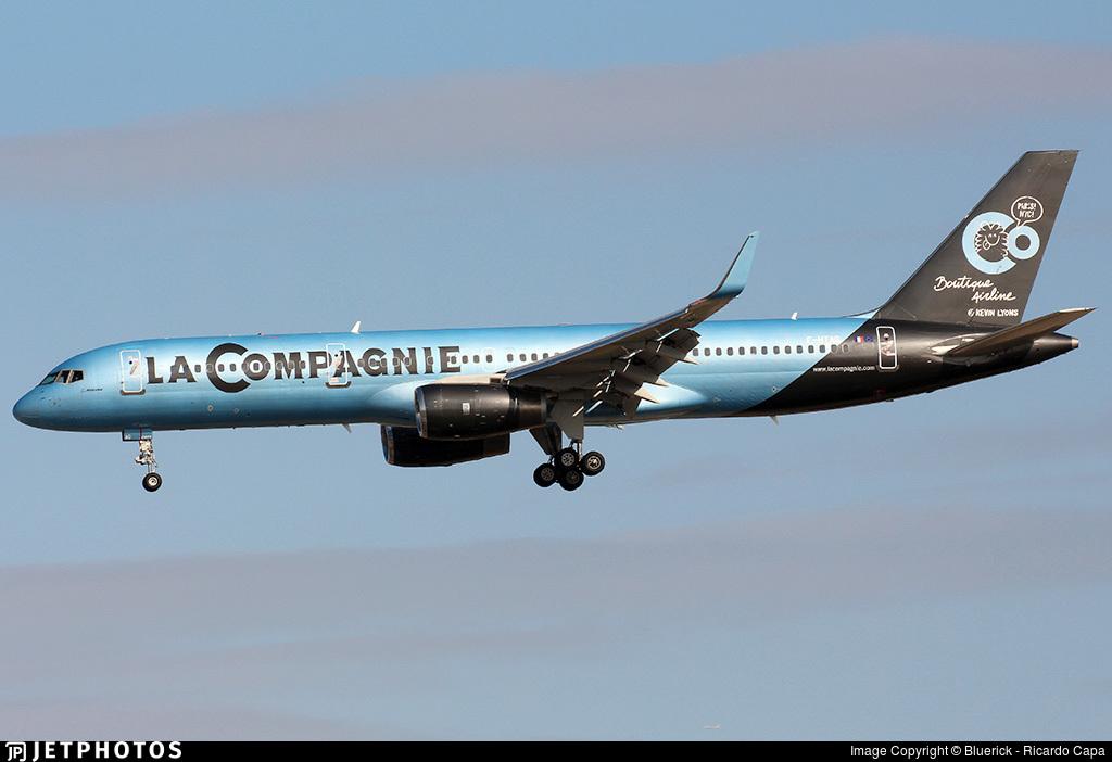 F-HTAG - Boeing 757-256 - La Compagnie